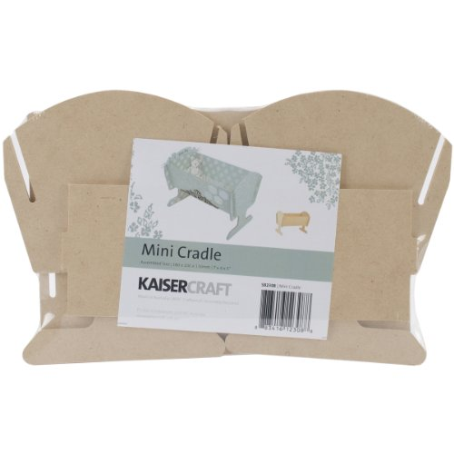 Kaisercraft Beyond The Page MDF 7 by 5 by 4-Inch Cradle, Mini
