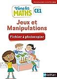 Vivre les maths - Fichier Jeux et manipulations CE1