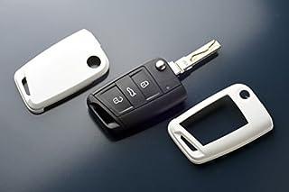Key Cover Hülle für Klappschlüssel Fernbedienung FFB Weiß