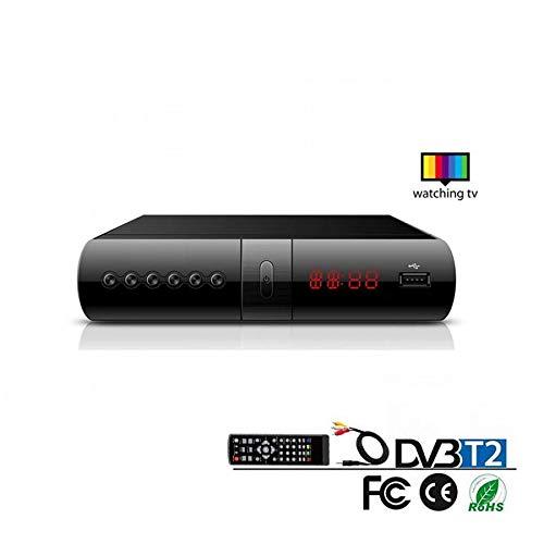 takestop DECODER Digitale TERRESTRE HD_999 DVB-T2 H.265 USB HDMI Pal NTSC EPG Rec PVR Telecomando Parent Control