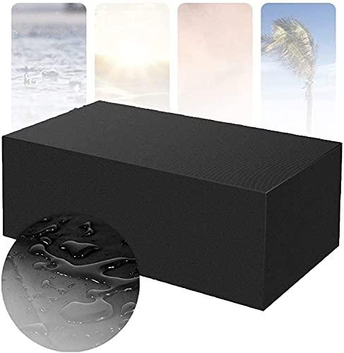ZXCVB Cover für Gartenmöbel für Garten Rattan Tisch Cube Chair Sofa 100% wasserdichte Möbelbezug Allzweck Staubfest Outdoor Patio Liege Cover