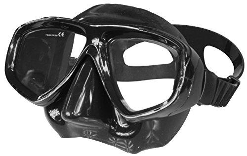 Aqua Speed® Optic Tauchmaske Schnorchelbrille mit Sehstärke +1,75; +2,25; +2,75 und -1,0 bis -8,5, Brillenfarbe:schwarz / 07B-Silikon, Sehstärke Taucherbrille:+2.75