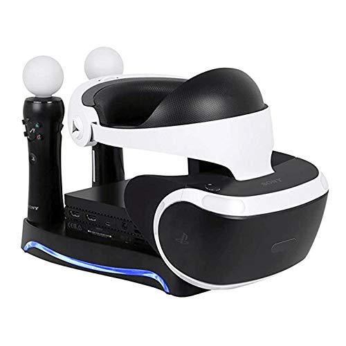 FairOnly 4 en 1 PS4 PS Move VR Support de Rangement pour Casque PSVR Move