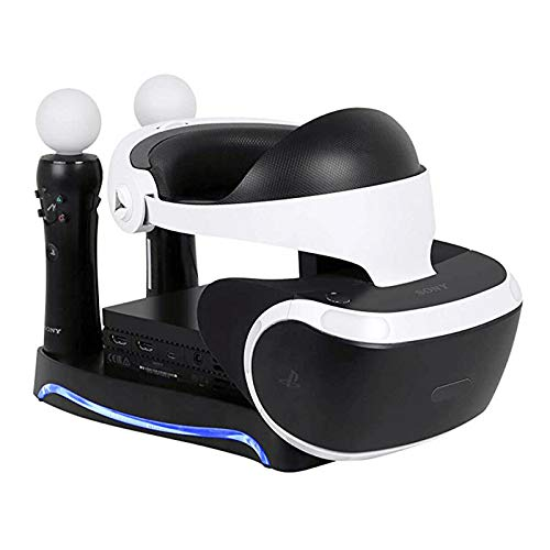 FairOnly Seconda generazione 4 in 1 PS4 PS Move VR Charging Storage Stand Psvr Auricolare Staffa per PS VR Move vetrina