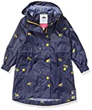 Joules Girls Golightly Waterproof Hooded Packable Parka Coat