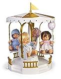 los Barriguitas- Carrusel Musical con Figura de muñeca bebé para niña (Famosa 700015806)