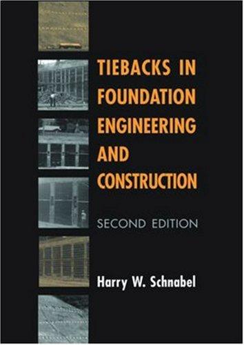 Tiebacks in Foundation (2nd) Engineering