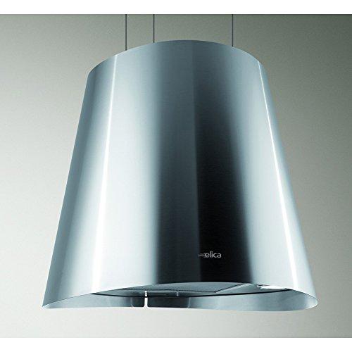 Hotte decorative ilot Elica PRF0089651A - Hotte aspirante Lustre - largeur 50 cm - Débit d'air maximum (en m3/h) : 603 - Niveau sonore Décibel mini. / maxi. (en dBA) : 47 / 67