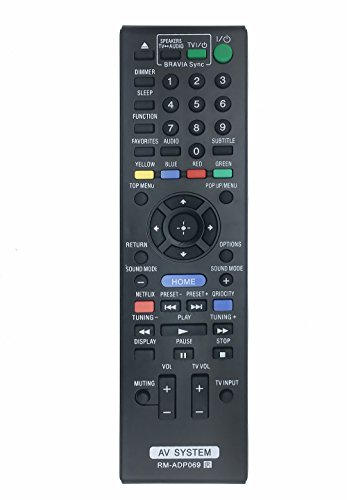 RM-ADP069 Replaced Remote fit for Sony Blu-Ray Disc Player HBD-E580 BDV-N790W HB-DE3100 RM-ADP072 BDV-T58 BDV-T57 HBD-T79 HBD-E280 Audio Vidio System