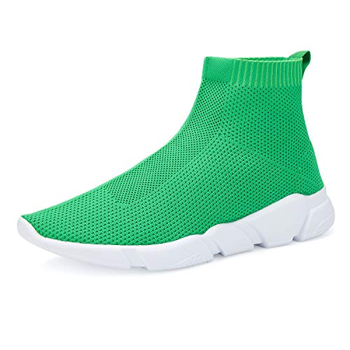 Women#039s Running Lightweight Breathable Casual Sports Shoes Fashion Sneakers Walking Shoes Green 39