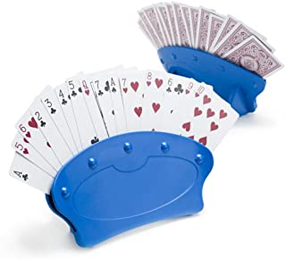 Set of Two Hands-Free Playing Card Holders by Brybelly