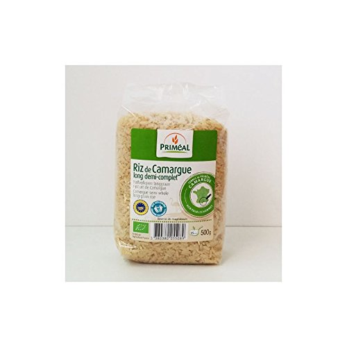 Priméal Riz de Camargue Long 1/2 Complet 500 g