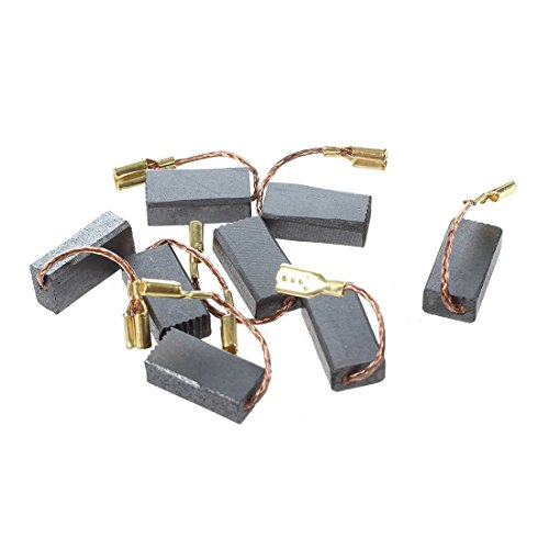 SODIAL(R) 8 Pz 15 mm x 8mm x 5 mm di carbone elettrico Spazzole per Bosch Angle Grinder