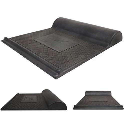 Upcycling Garagenstopper | Einparkhilfe | ohne Festschrauben | 100% nachhaltige Parkmatte