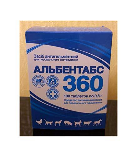 Ol.Kar Albendazole Albentabs 360 mg 20 Tabletten Hund Katze De-Wormer