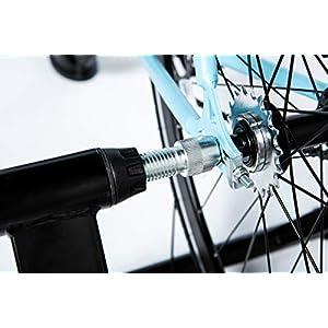 Moma bikes, Rodillo de Entrenamiento, 6 Niveles, Resistencia 500W, Compacto y Plegable