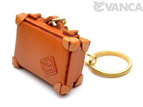 Trunk Leather Unique Goods KH Keychain VANCA CRAFT-Collectible keyring Made in Japan
