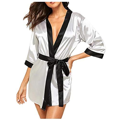 SUMTTER Dessous Damen Sexy Unterwäsche für Sex Satin Nachtwäsche Erotische Reizwäsche Große Größen Pyjamas Sale