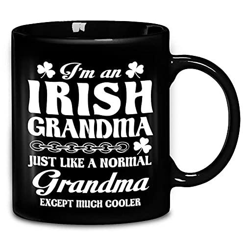N\A Sono Una Nonna Irlandese, Proprio Come Una Nonna Normale, Tranne Che per la Tazza da caffè in Ceramica Molto più Fresca 11 Once Amp Tea Cups V5Y6YV