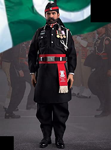 Action Figure Batie Brother Model Toys, 1/6 Pakistan Flag Lowering Ceremony Team Soldier Model PVC Modell Puppe Geschenk Für Fotografie, Hobby und Sammlung