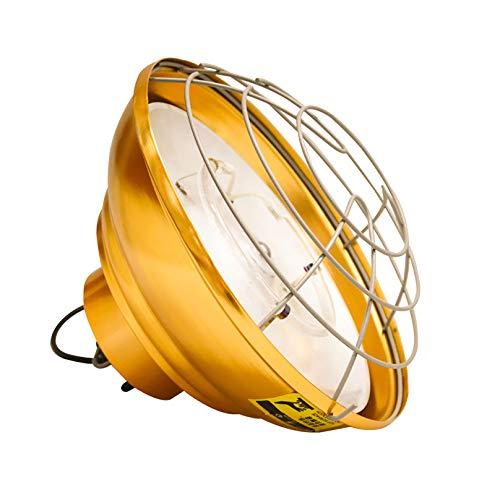MGW Lámpara de Calor Lámpara de Domo Anfibio para Mascotas Lámpara de Calor para Aves de Corral Tubo halógeno - Dos tamaños Disponibles