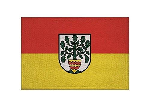U24 Aufnäher Westerstede Fahne Flagge Aufbügler Patch 9 x 6 cm