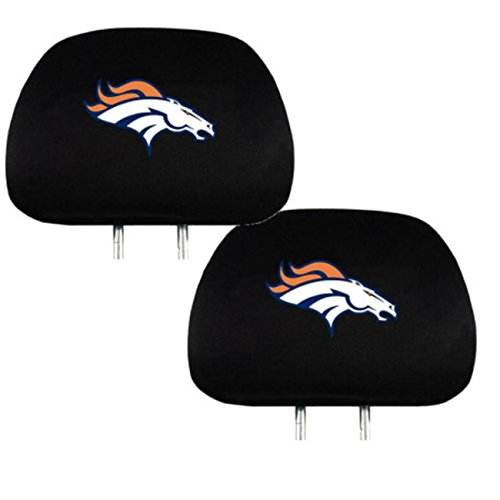 Team ProMark Sports Fan Shop Football Team Universal Bucket Seat Headrest Cover (Denver)