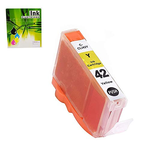 NEXTPAGE Compatible Ink Cartridges Replacement for CLI-42 Yellow Professional Inkjet PIXMA PRO-100, CLI42 y 1 Pack (CLI42 Yellow)