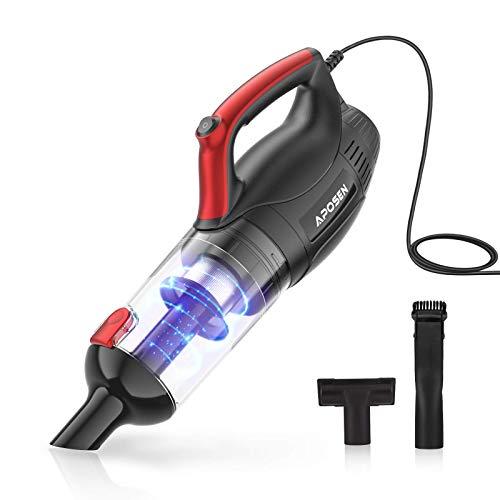 APOSEN Handheld Vacuum 16KPA Powerful Suction Dustbuster Handheld Vacuum, Corded Hand Vacuum for...