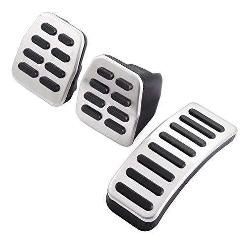 Pedales para Coche Pedales Automáticos Automáticos De Acero Inoxidable para Audi para VW para Skoda para Asiento Coche Pedal ReposapiéS