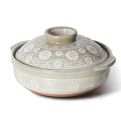 Casserole, Soup Pot, Crock Pot, Open Flame Ceramic Stew Pot, Health Pot, Household High Temperature Stew Pot,Dinnerware