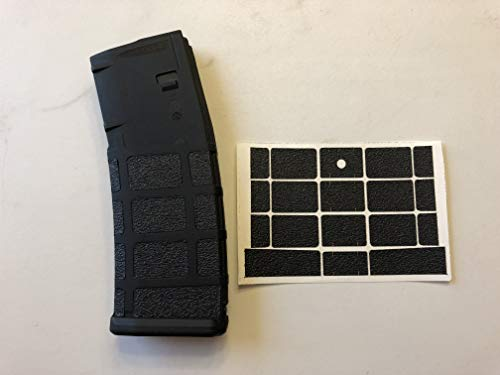 Handleitgrips Gun Grip Tape Wrap for AR-15 Magpul P Mag 30 Round Magazine Magazine Not Included, Black