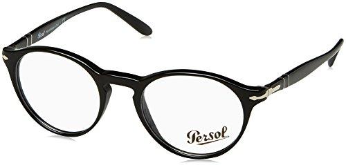 Persol Herren 0PO3092V Sonnenbrille, Black, 48