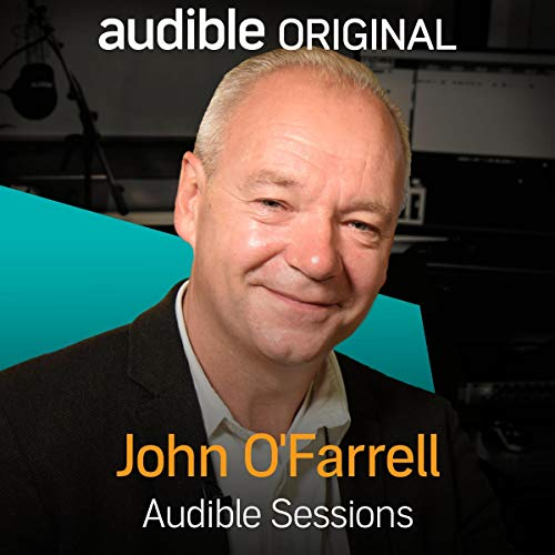 John O'Farrell audiobook cover art