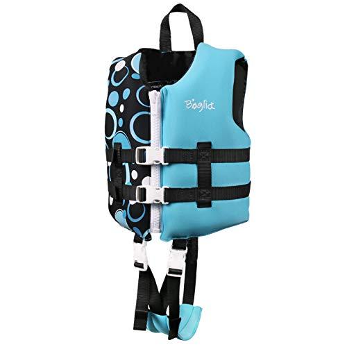 Kleinkind-Schwimmweste, Schwimmwesten für Kleinkinder, Schwimmanzug-Badebekleidung für Kinderwesten mit verstellbarem Sicherheitsgurt für Unisex-Kinder Blase M