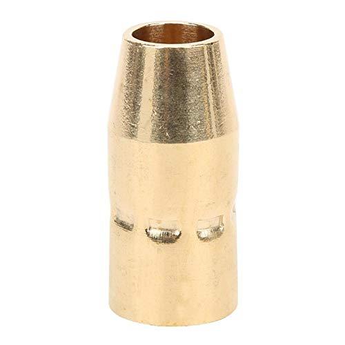 Kits de repuesto boquillas de pistola de soldadura de gas boquilla de pistola de soldadura de latón 5 uds boquilla de Gas de pistola de soldadura apta para H10 / M100 / M150