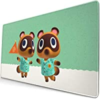 どうぶつの森 あつまれ Animal Crossing マウスパッド ゲーミングマウスパッド 大型 ラバー素材採用 Fpsゲーム パソコン キャラクター 滑り止め 疲労低減 耐摩耗 かわいい グッズ 30*80cm