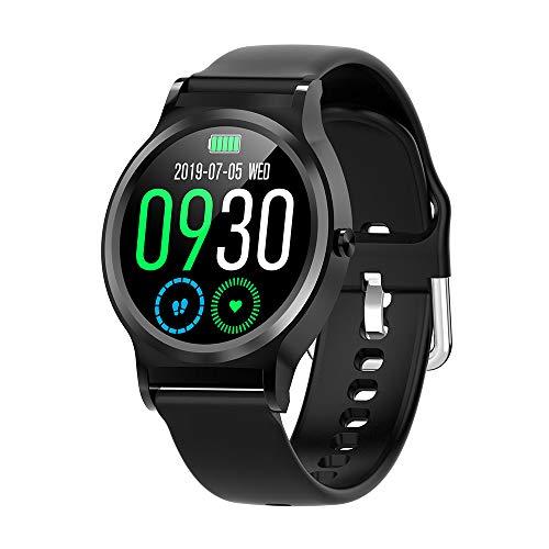 Cybill Smartwatch, Reloj Inteligente Impermeable IP67 Pantalla Táctil Completa con Pulsómetro Monitor de Sueño Podómetro Caloría Cronómetros, Pulsera Actividad Inteligente para Hombre Mujer niños
