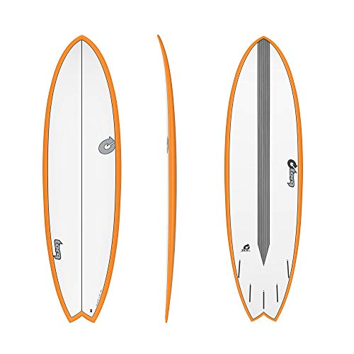 TORQ Epoxy TET CS 6.3 - Tabla de surf (carbono), color naranja