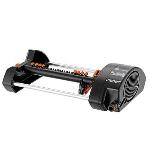 Claber 7804010 8753 mq 320 Compact Irrigatore Oscillante, Nero