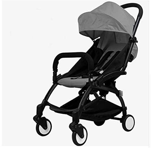LQJin Cochecito de bebé Original 2 en 1 + Nido de Nacimiento recién Nacido Carreras de bebé Plegables cochecitos cochecitos para bebé 0-36 Meses (Color : 3) 🔥