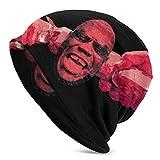 Lsjuee Carl Cox Skull Caps Sombrero de punto para adultos Casual Unisex Moda cálido Sombrero suave Cómodo invierno Negro