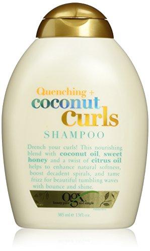 OGX Coconut Curls Shampoo 385mL, 5.532 kilograms