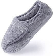Women Soft wide Slippers Memory Foam Closed Toed Diabetic Arthritis Edema House Slippers......