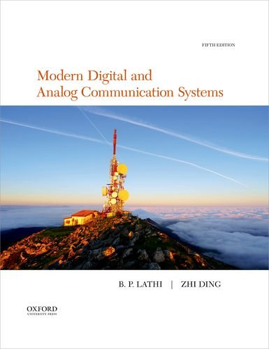 Compare Textbook Prices for Modern Digital and Analog Communication The Oxford Series in Electrical and Computer Engineering 5 Edition ISBN 9780190686840 by Lathi, B.P.,Ding, Zhi