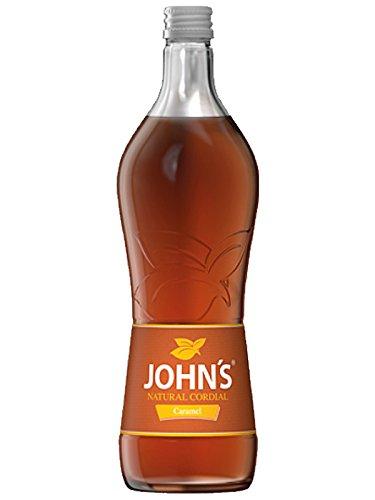 Johns Natural Caramel Sirup 0,7 Liter