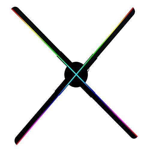 DDT WiFi 3D Hologramm Projektor, Tragbare LED Werbungsmaschine Fan 1024 * 1024 Hoher Auflösung Werbung Display Mit 16 GB Speicherkarte, Unterstützt Video/Animations/Bildanzeige
