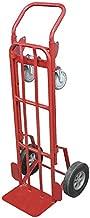 Convertible Hand Truck, 1000 lb./700 lb. Horixontal/Vertical Load Cap, Continuous Frame Flow-Back