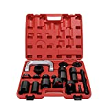 KKmoon 21PCS Automotive Heavy Duty Ball Joint Press & U Joint Removal Tool Kit, Car Repairing Tool Kit for Most 2WD and 4WD Cars and Light Trucks