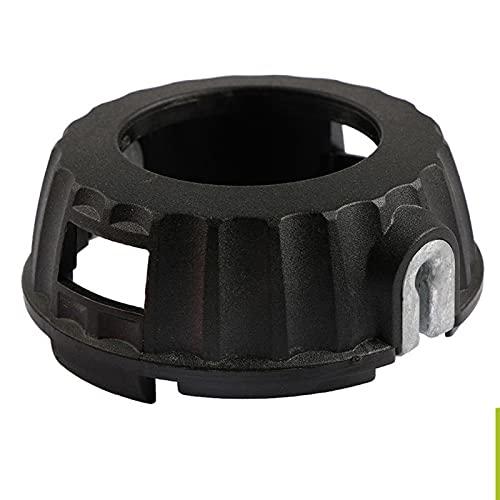 Tête de coupe P25,Protection de la tête P25 Remplacement Stable Noir ABS Tête de coupe Universal P25(noir)